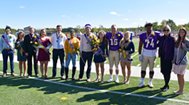 homecoming court group photo