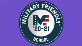 Military Friendly School '20-21