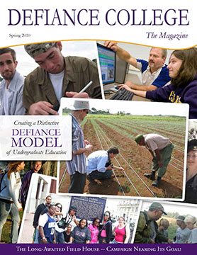 Cover of Spring 2010