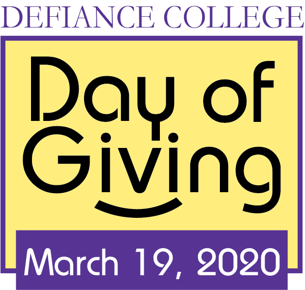 Defiance College Day of Giving March 19, 2020